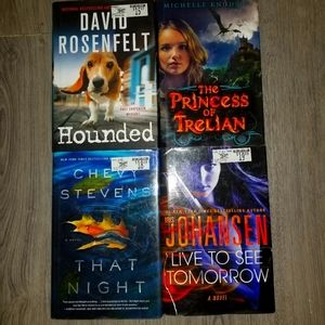 Lot of Mystery Books with tags